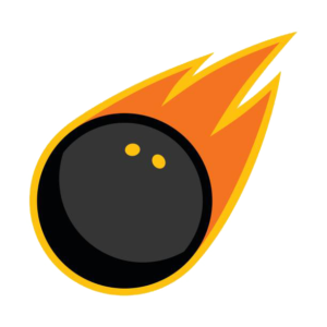 Flaming Squash Ball